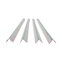 Broeklatten MEVO - Wit met groene latex - 2000 stuks