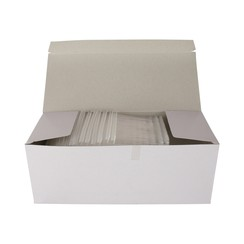 Riddersporen polypropeen - Standaard - 65 mm á 5000 stuks - Wit