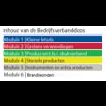 Bedrijfsverbanddoos BHV module Brandwonden