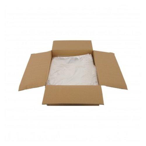 Transparante kleding zakken   80 x 100 cm   1000 stuks