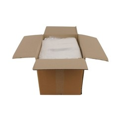 Transparante kleding zakken | 40 x 65 cm + 2 x 5 cm | 1000 stuks