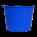 Emmer Blauw 12L - Rond