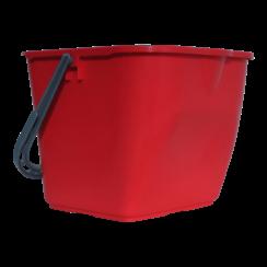 Mopemmer 15L - Rood - Voor Mopwagen