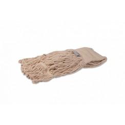 Vloermop gelust met band - Wit - 350 gram