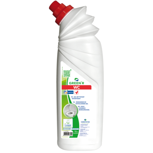Toiletreiniger Christeyns - Green'R WC 750 ml