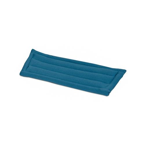 Glasmop Microvezel - 28 cm - 5 stuks - Lichtblauw - Wecoline