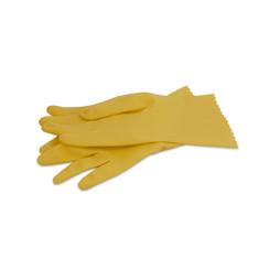 Huishoudhandschoenen - Rubber - Geel - M