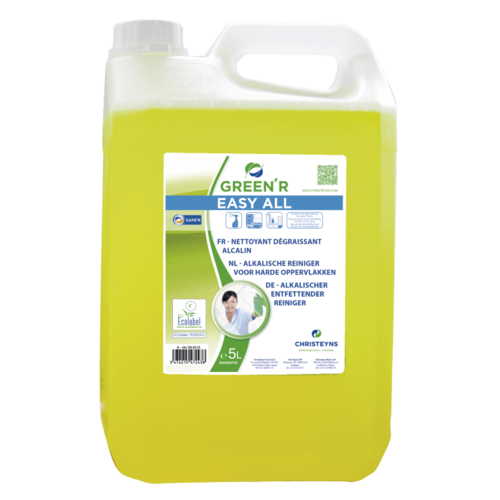 Allesreiniger alkalisch Christeyns - Green'R Easy All 5 liter
