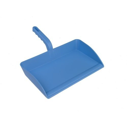 Open kunststof stofblik Hillbrush DP13 - 30x13 cm - Blauw