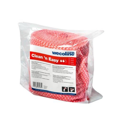 Navulling sanitair doeken - 150 stuks - Wecoline - Clean 'n Easy