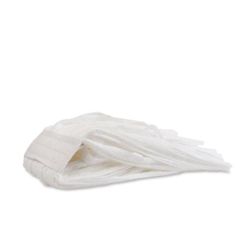 Disposable eco mop - 220 gram - Wit