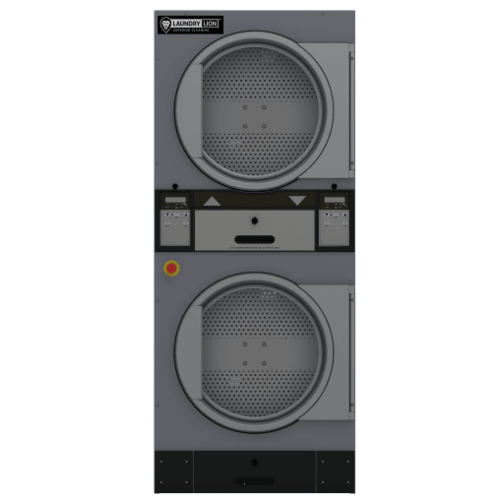 Industriële dubbele droger 2x13,5 kg - LaundryLion TDD-270R