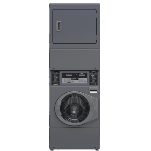 Professionele gestapelde was droogcombinatie 10 kg - LaundryLion PWD-100