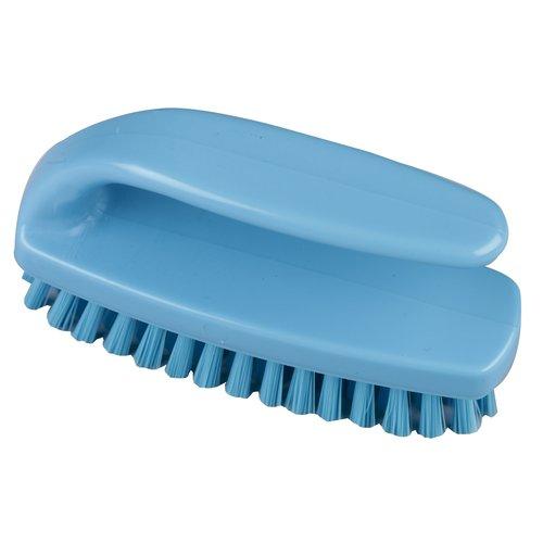 Nagelborstel met grip Hillbrush NA10 - Blauw