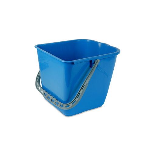 Mopemmer 25L - Blauw - Voor Mopwagen