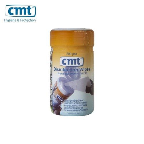 Disinfection wipes - per stuk á 200 doekjes - Wit - CMT