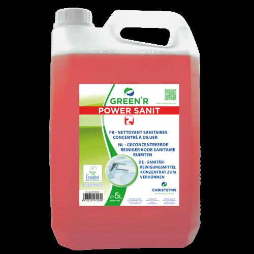 Sanitairreiniger Christeyns - Geconcentreerd - Green'R Power Sanit 5 liter