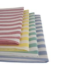 Waszakken 60x100 cm - Met K-locksluiting - Gestreept in verschillende kleuren