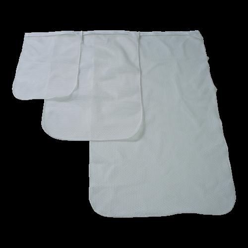 Wasnet 40x60 cm - Met ritsafsluiting - Wit