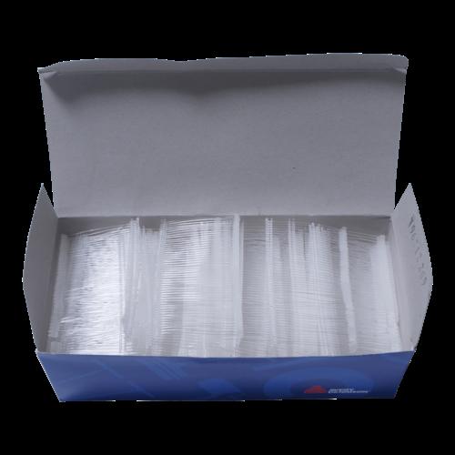 Riddersporen Avery Dennison polypropeen - Fijn - 50 mm á 5000 stuks - Wit
