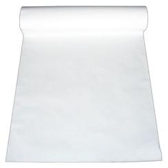 Papierrol - rol á 14 kg - 75 cm breed 48 g/m² - Wit