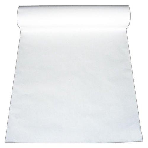 Papierrol - rol á 14 kg - 75 cm breed 50 g/m² - Wit