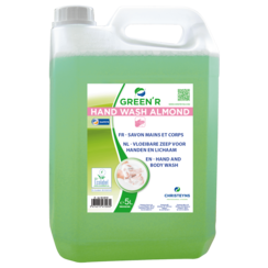 Handzeep Christeyns - Green'R Hand Wash Almond 5 liter