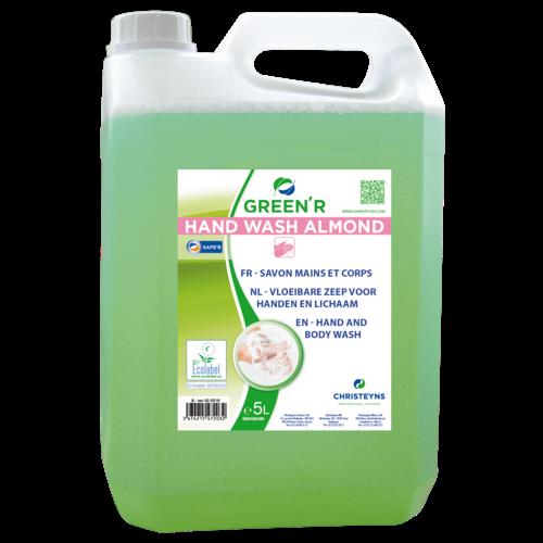 Handzeep Christeyns - Green'R Hand Wash Almond 5 liter