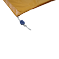 Waszak 80x100 cm - Geel - PU-gecoat met K-locksluiting