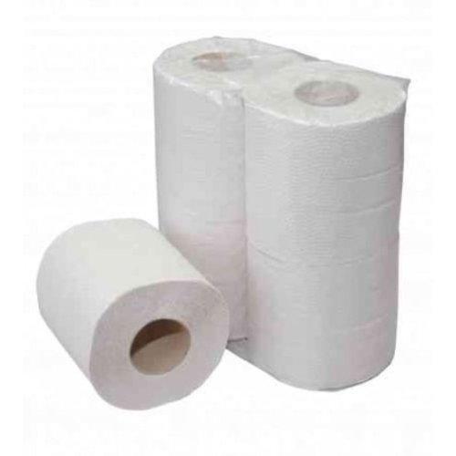 Toiletpapier traditioneel 2-laags 200 vel gerecycled wit - 16x4 rollen