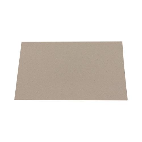 Hemdenkarton 220 gram - 24x38 cm - Grijs - 500 stuks