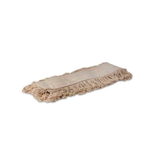 Zwabberhoes katoen - Wit - 100 cm - Wecoline