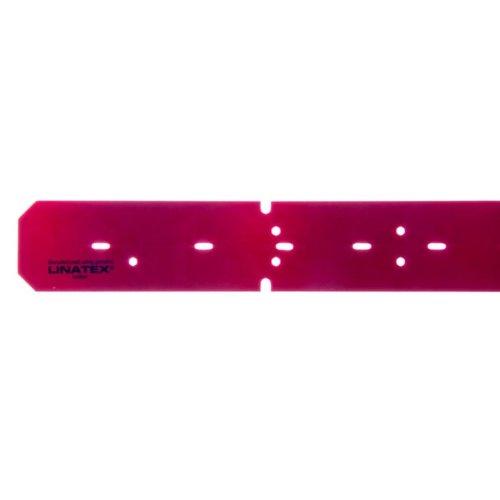 Zuigrubber XL Linatex voor - 10 stuks - Rood