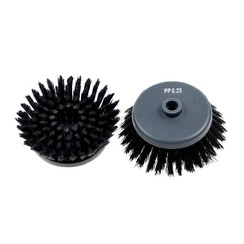 Borstel set ⌀4 - 0,25 mm - Zwart - Voor i-scrub 21B