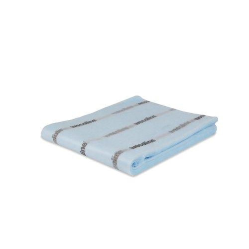 Stofwisdoek geïmpregneerd - Blauw - 80x25 cm - 50 stuks