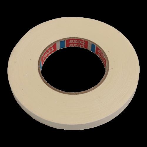 Tesa Tape zelfklevend linnen centreertape - 15 mm breed - 50 meter á rol