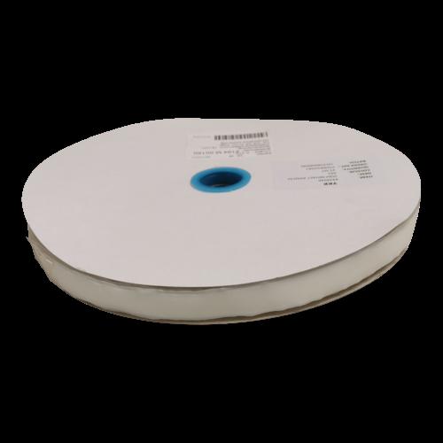 Klittenband zelfklevend lus wit - 16 mm - 25 meter á rol