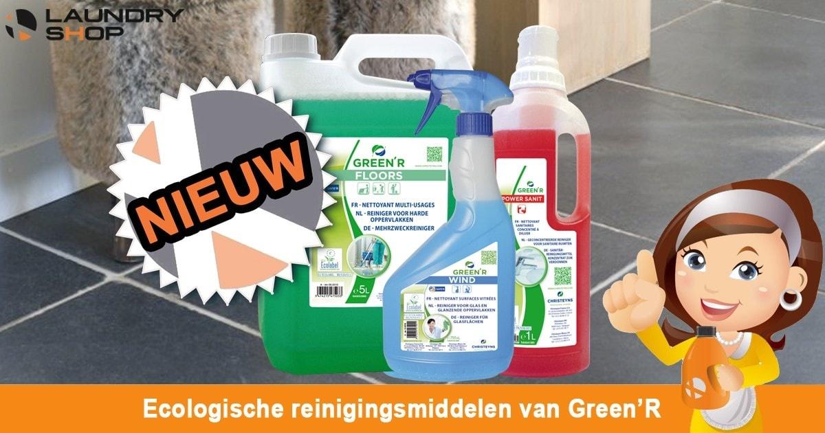 Laundry Shop gaat voor groen met Green'R! | Blog Koen