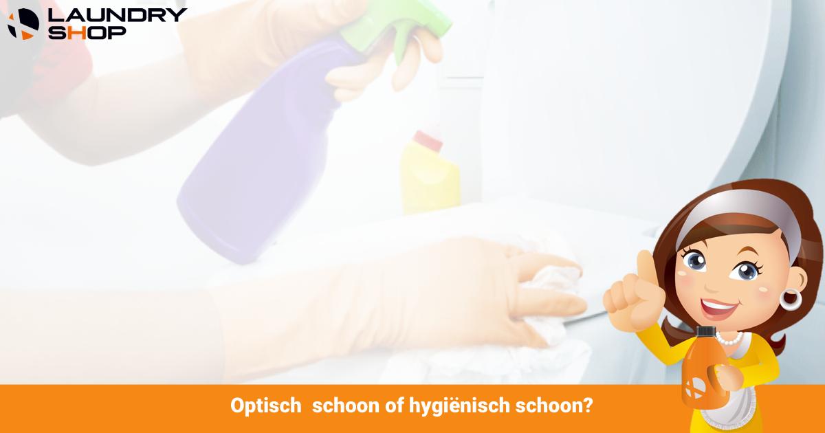 Is het optisch of hygiënisch schoon? | Blog Koen