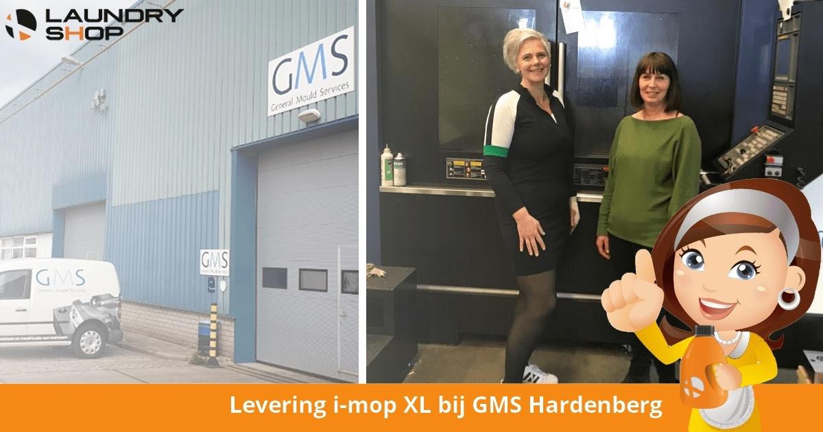 Levering i-mop XL bij GMS Hardenberg