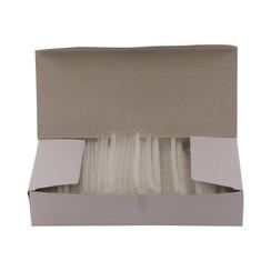 Riddersporen polypropeen - Standaard - 25 mm á 5000 stuks - Wit