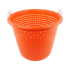 Industriële oranje wasmand | 58 liter