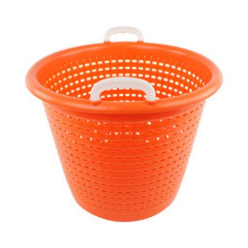 Industriële oranje wasmand   58 liter
