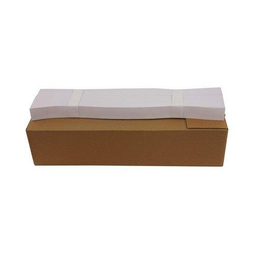 Overhemdbanden - 56x4 cm - Wit - 2000 stuks