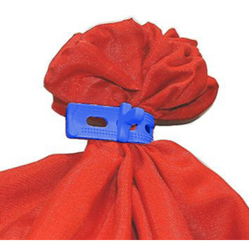 Rubberen wasnet sluiting - 3-gaats - In verschillende kleuren