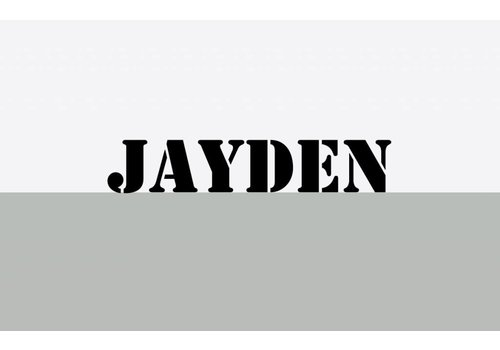 BrandLux Muursticker | ''Jayden''