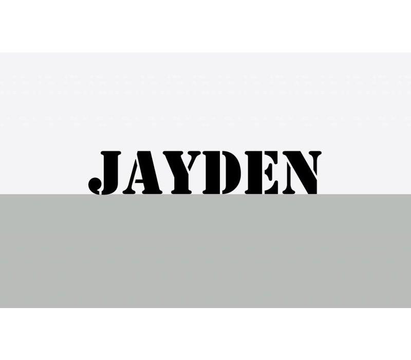 Muursticker | ''Jayden''