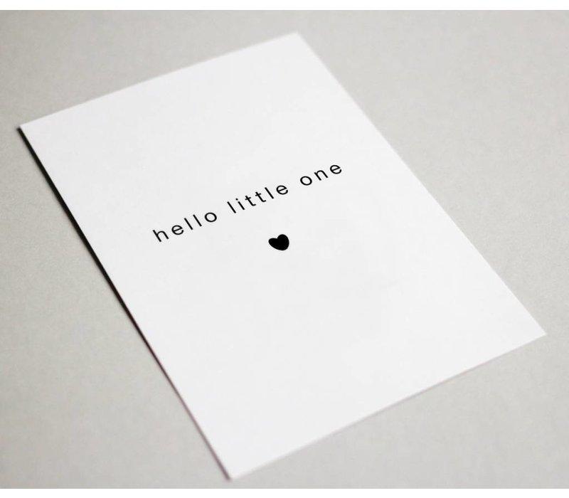 Kaart | hello little one