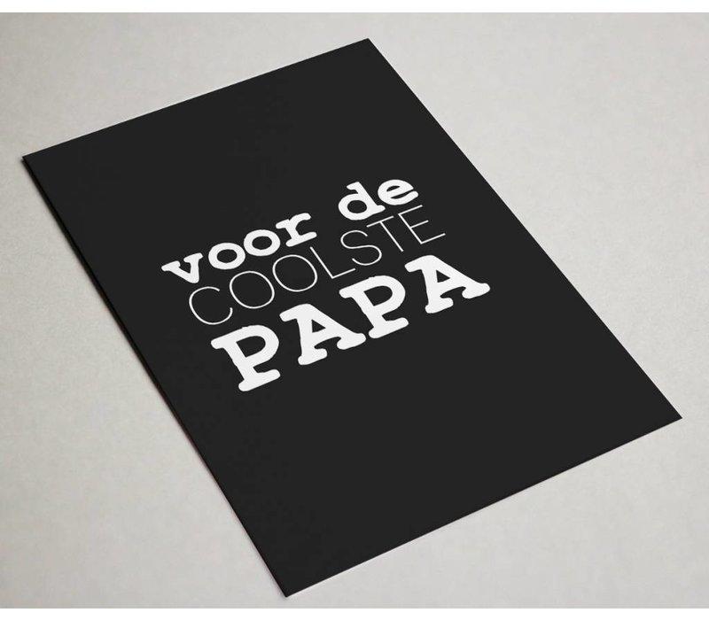 Kaart | Voor de coolste papa