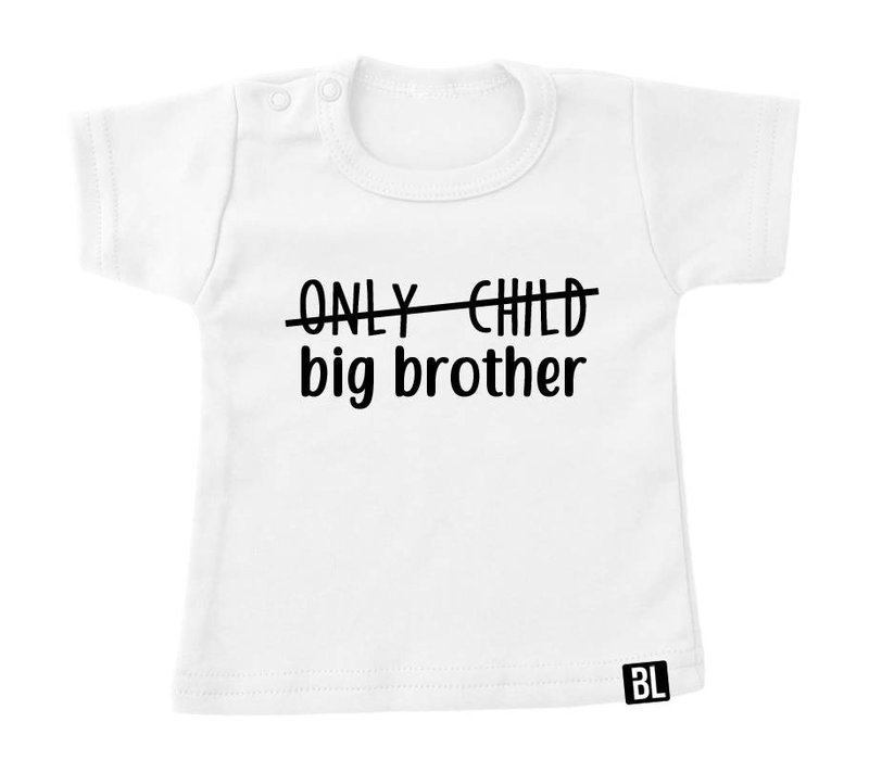 Shirt | Only child. big brother